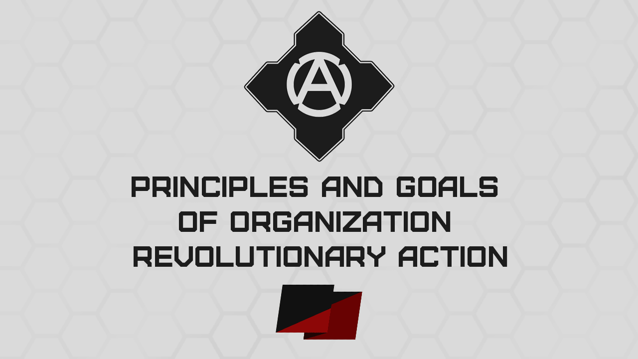 Principles And Goals Of Organization Revolutionary Action